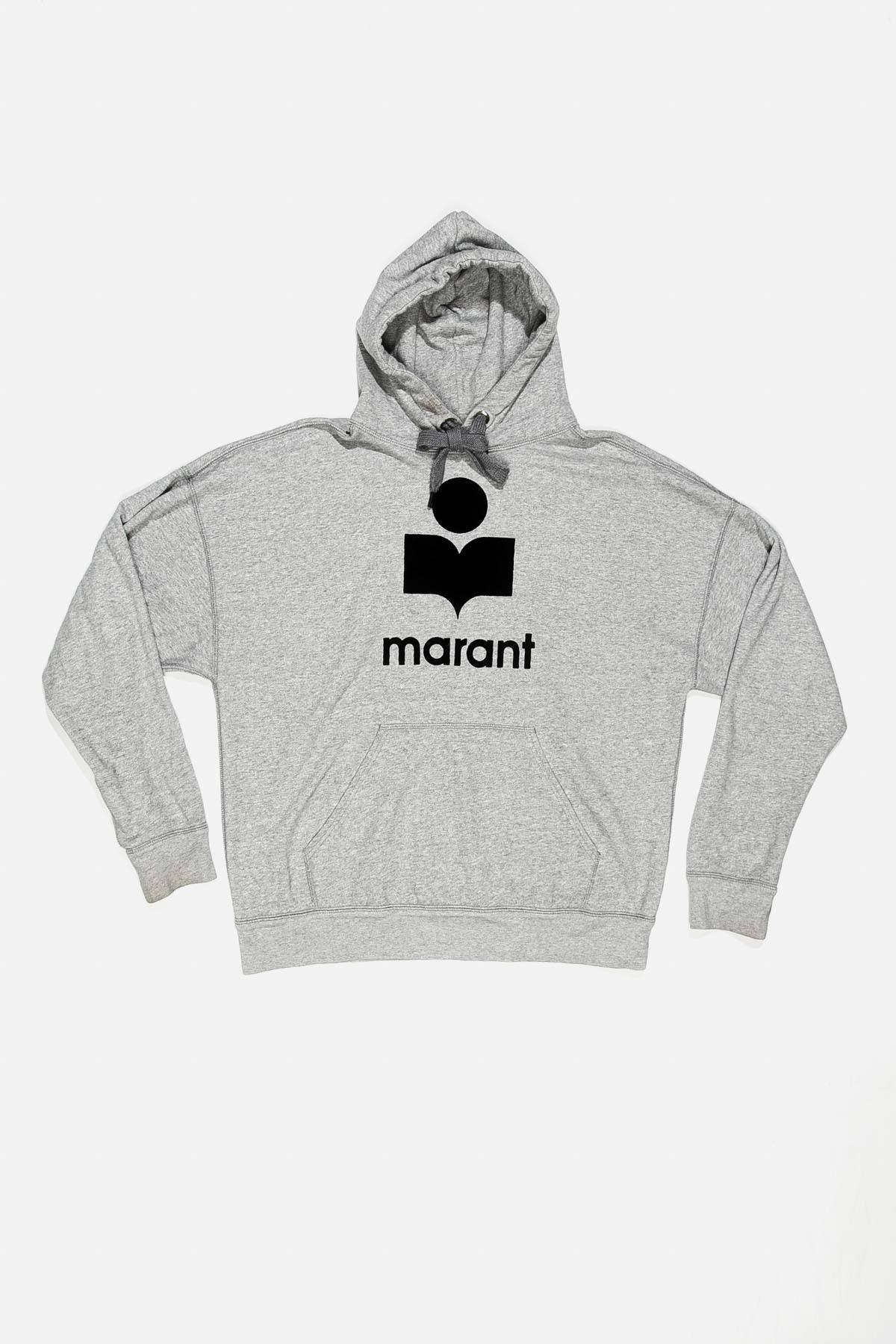 MANSEL OVERSIZED COTTON-BLEND HOODIE