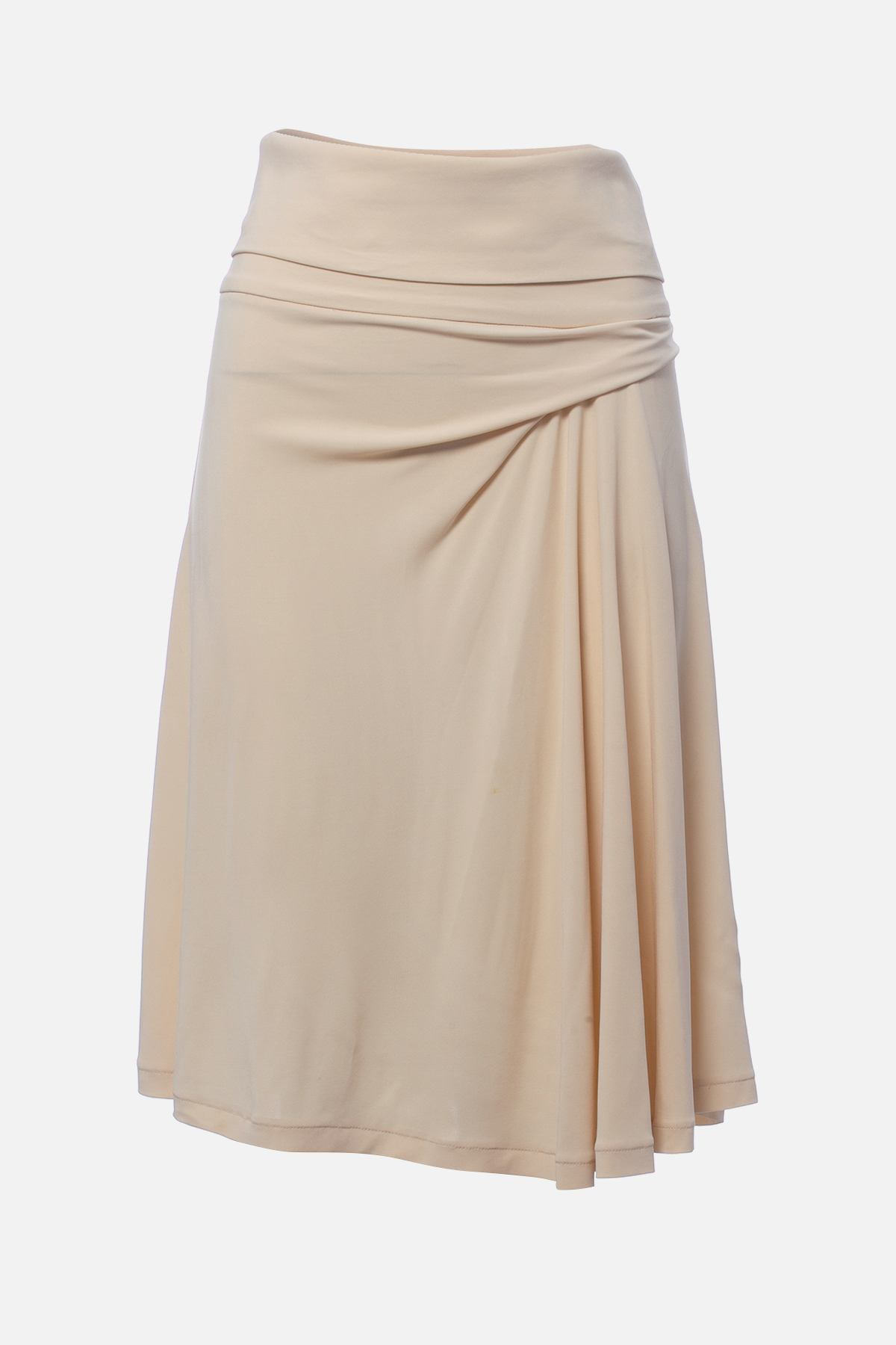 KNEE-LENGTH SKIRT