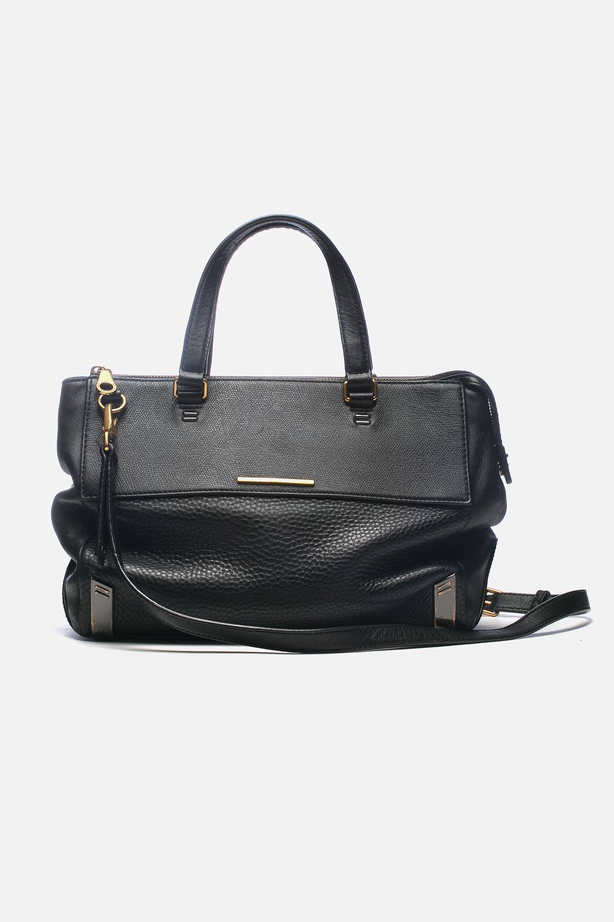 GRAINED LEATHER BAG