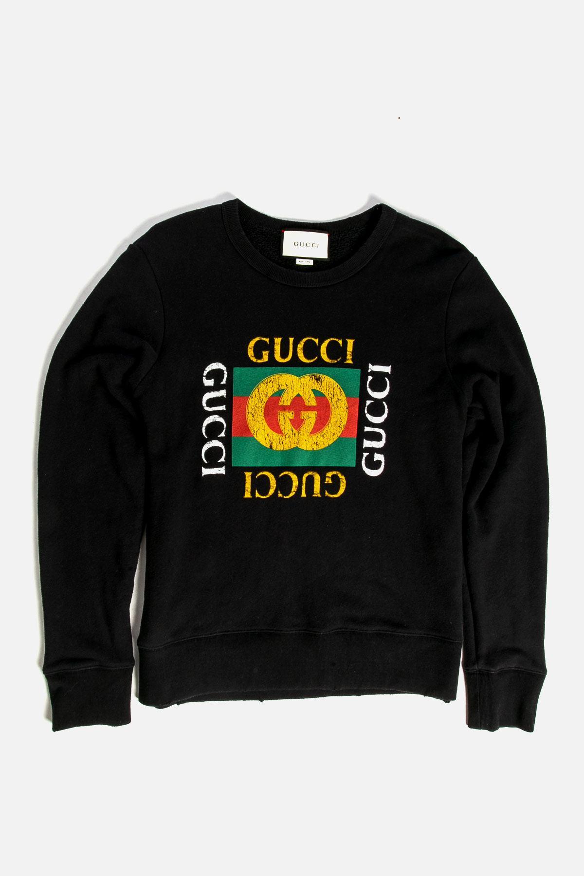 Graphic Print Crew Neck Sweatshirt