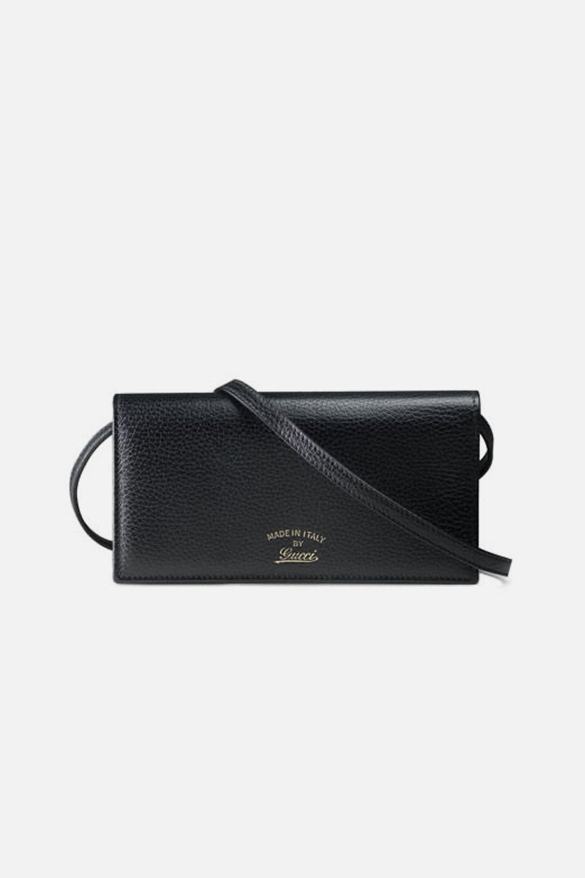 Swing Leather Wallet with Strap