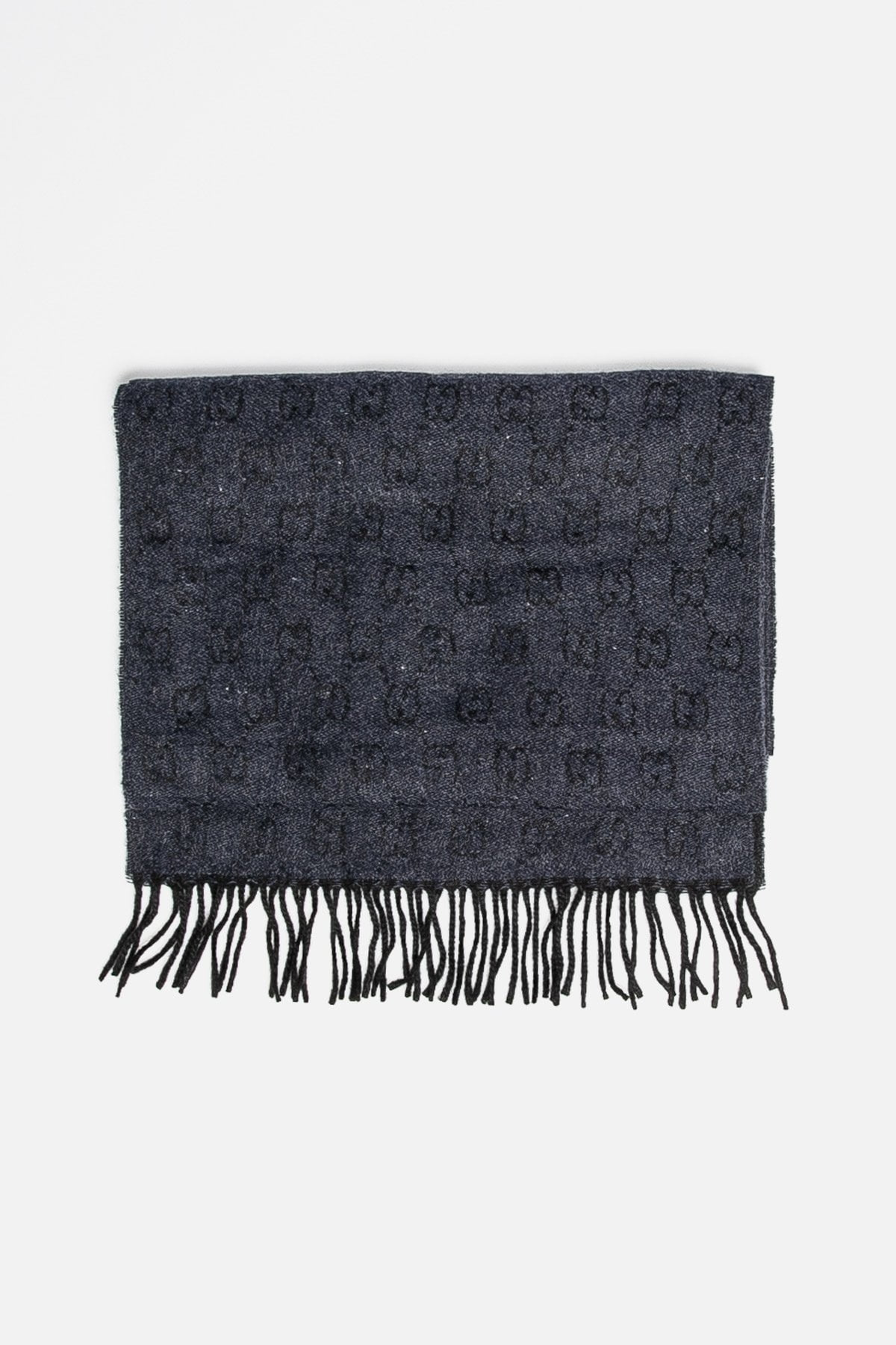 Reversible Cashmere Knit Scarf