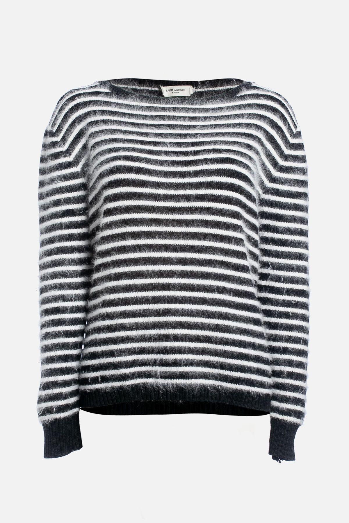 Virgin Wool Striped Sweater