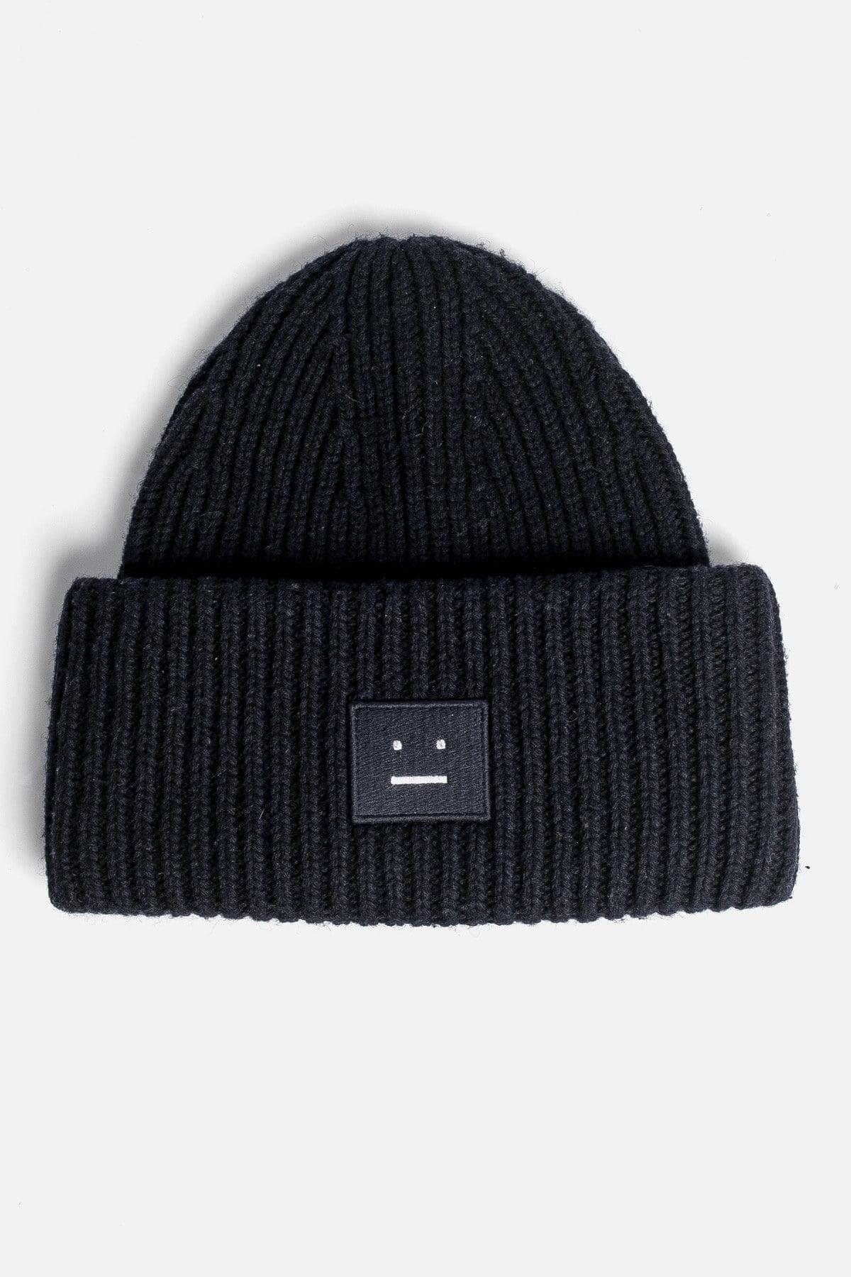 Rib Knit Beanie Hat