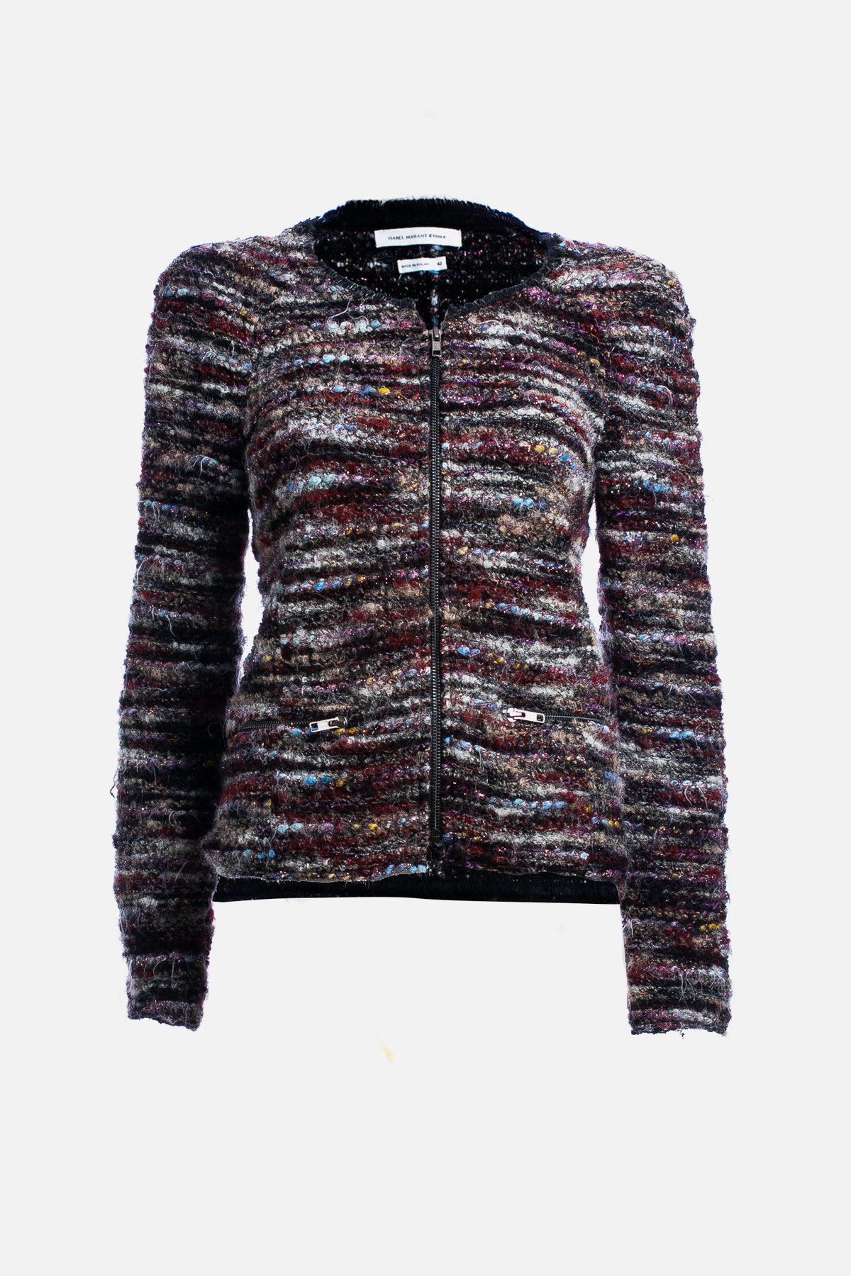 Tweed Pattern Jacket