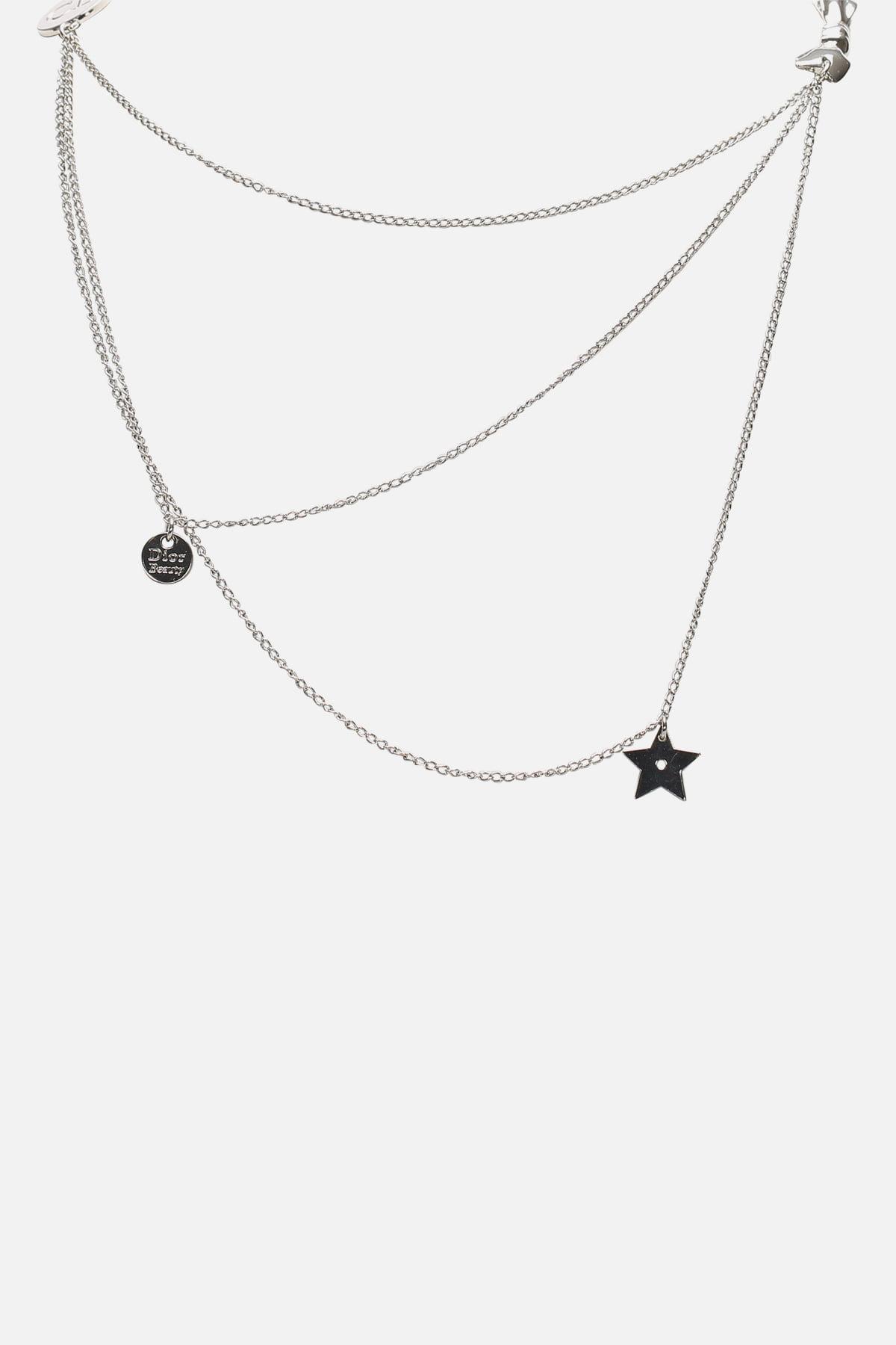 Logo Ribbon Necklace