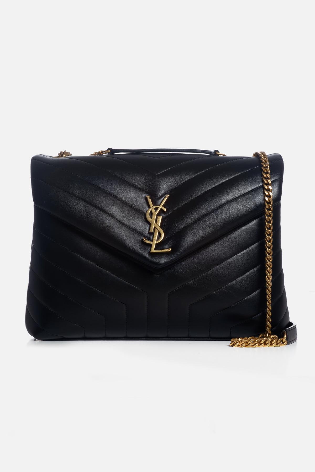 Loulou Medium Leather Shoulder Bag