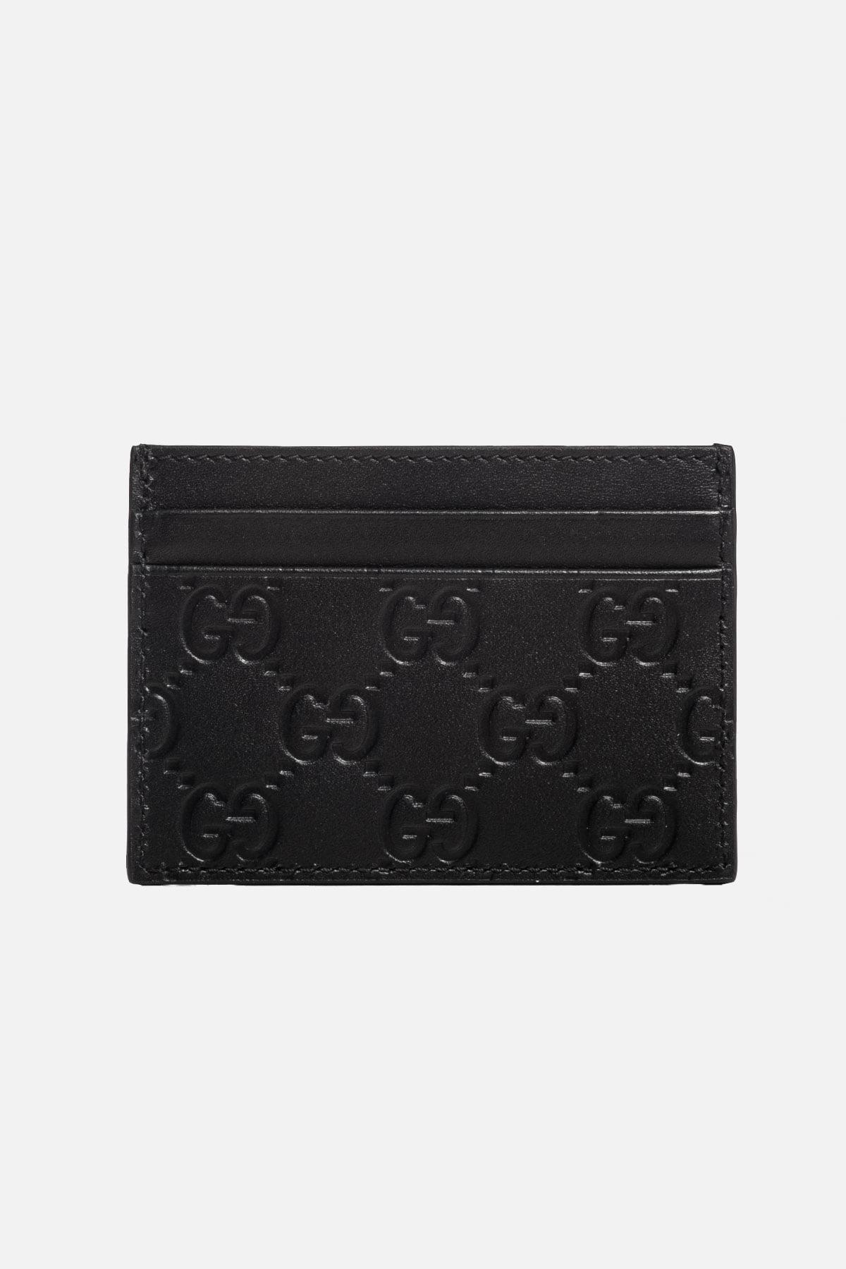 Signature Leather Card Holder