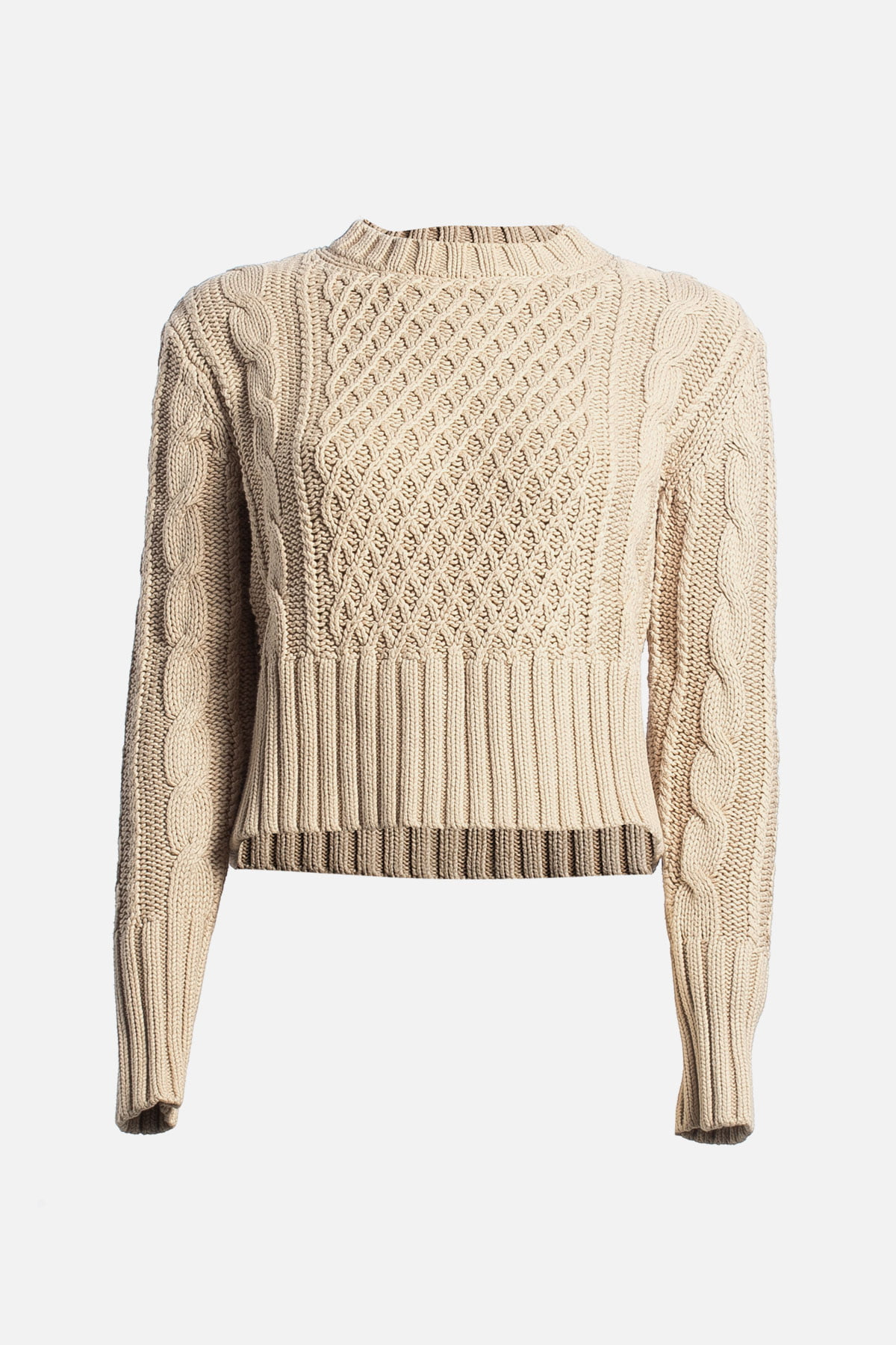 Lia Cable Knit Sweater